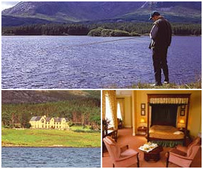 Ireland Self Drive Manor Lough Inagh Lodge Hotel